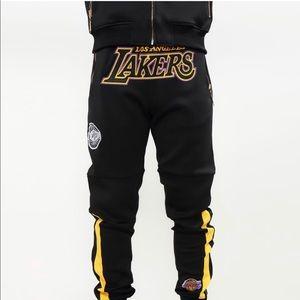 LA Lakers Joggers Pro Sports Brand